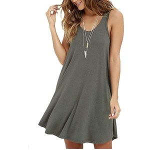 Summer Sleeveless Casual Swing Simple T-Shirt Loos